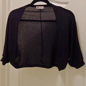 H&M black shrug